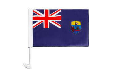 Saint Helena Car Flag 12x16""