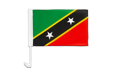 Saint Kitts and Nevis - Car Flag 12x16""