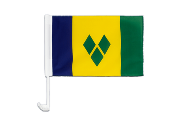 Saint Vincent and the Grenadines Car Flag 12x16""