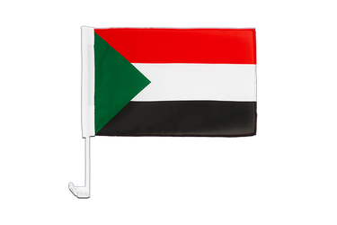 Sudan - Car Flag 12x16""