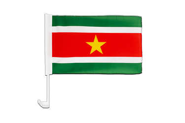 Suriname Car Flag 12x16""