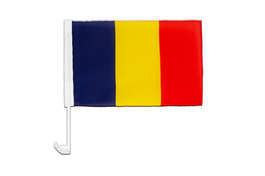 Chad Car Flag 12x16""