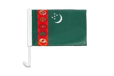 Turkmenistan - Car Flag 12x16""
