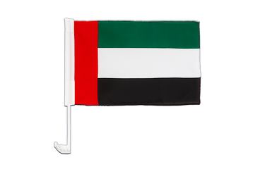 United Arab Emirates - Car Flag 12x16""