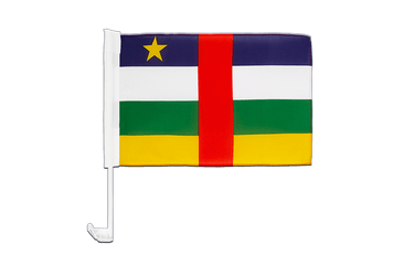 Central African Republic Car Flag 12x16""