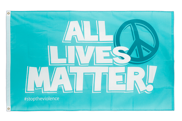 All Lives Matter Flagge 90 x 150 cm