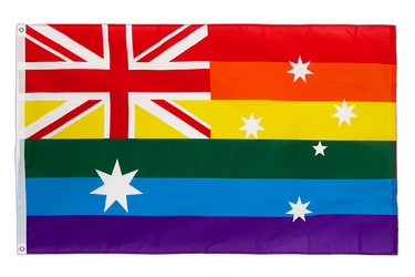Rainbow Australia 3x5 ft Flag