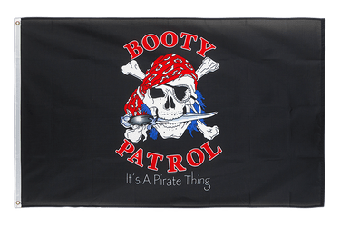 Pirate Booty Patrol 3x5 ft Flag