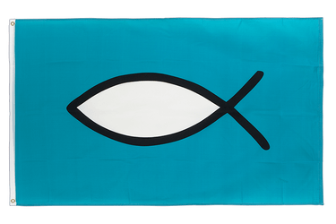 Christian Fish 3x5 ft Flag