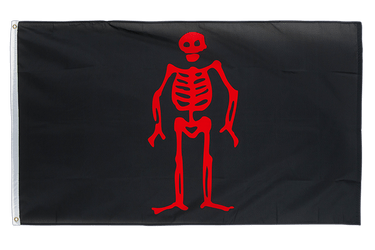 Drapeau Pirate Edward Lowe 90 x 150 cm