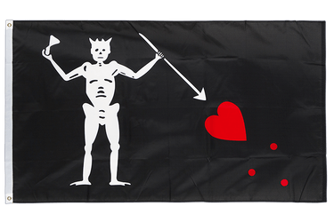 Pirate Edward Teach 3x5 ft Flag