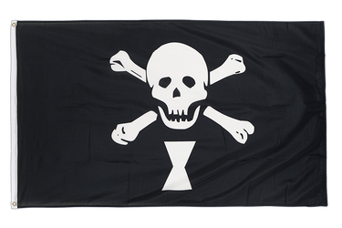 Pirate Emanuel Wynne 3x5 ft Flag