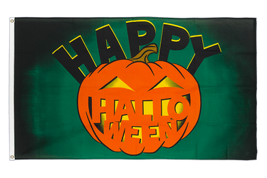 Happy Halloween with pumpkin 3x5 ft Flag