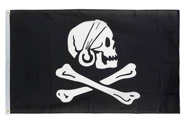 Pirate Henry Avery 3x5 ft Flag