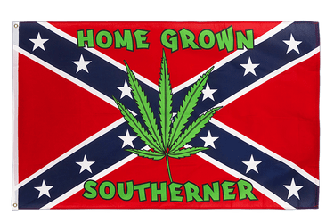 USA Südstaaten Home Grown Southerner Flagge 90 x 150 cm