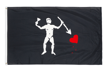 Pirate John Quelch Variation 3x5 ft Flag