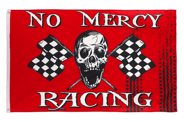 No Mercy Racing Flagge 90 x 150 cm
