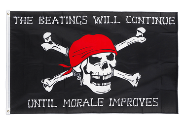 Pirate Morale 3x5 ft Flag