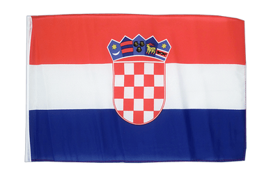 Croatia - 12x18 in Flag
