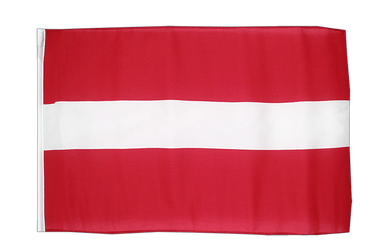 Latvia - 12x18 in Flag