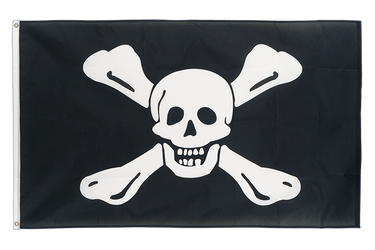 Pirate Richard Worley 3x5 ft Flag