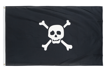 Pirate Richard Worley small 3x5 ft Flag