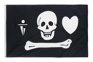 Pirate Stede Bonnet 3x5 ft Flag