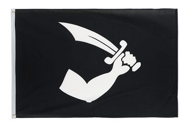 Pirate Thomas Tew 3x5 ft Flag