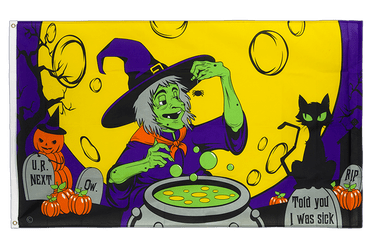 Witch's Brew 3x5 ft Flag