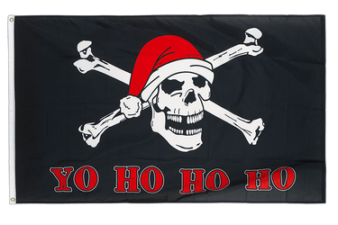 Pirate Yo Ho Ho Ho 3x5 ft Flag