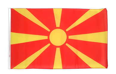 Macedonia 12x18 in Flag