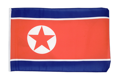 North corea 12x18 in Flag
