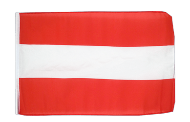 Austria - 12x18 in Flag