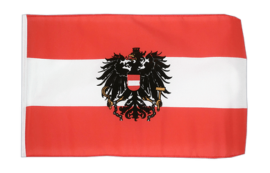 Austria eagle 12x18 in Flag