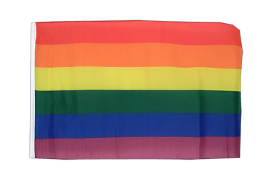 Rainbow 12x18 in Flag