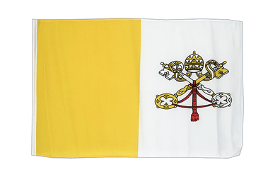 Vatican - 12x18 in Flag