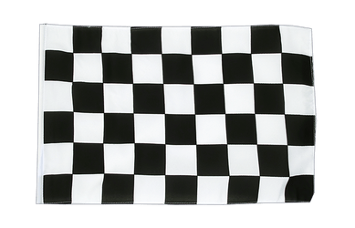 Checkered 12x18 in Flag