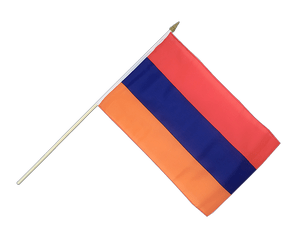 Armenia - Hand Waving Flag 12x18""