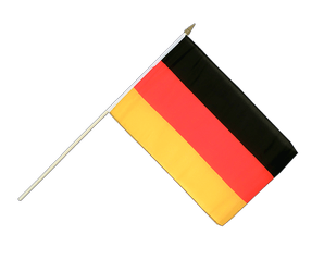 Germany - Hand Waving Flag 12x18""