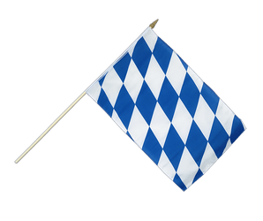 Bavaria without crest Hand Waving Flag 12x18""