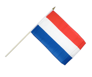 Luxembourg Hand Waving Flag 12x18""