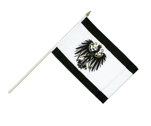Prussia Hand Waving Flag 12x18""