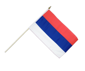 Serbia Hand Waving Flag 12x18""