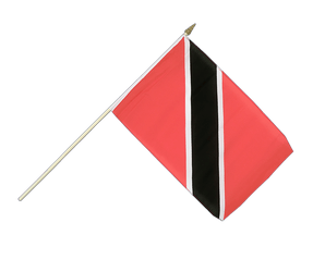 Trinidad and Tobago Hand Waving Flag 12x18""