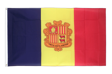 Andorra 3x5 ft Flag