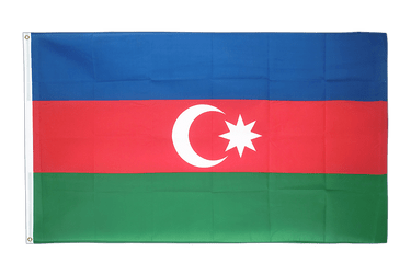 Azerbaijan 3x5 ft Flag