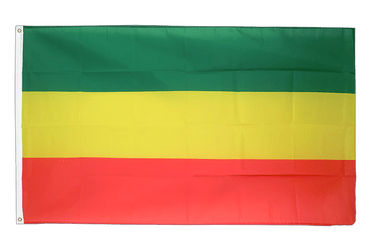 Ethiopia without star 3x5 ft Flag