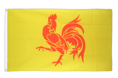 Belgium Wallonia 3x5 ft Flag