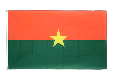 Burkina Faso 3x5 ft Flag