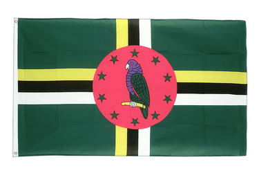 Dominica 3x5 ft Flag